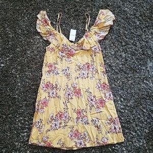 NWT rue 21 floral dress sz XS